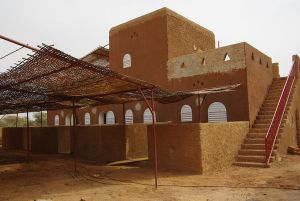 AVN - Nubian vault building, two story with terrace