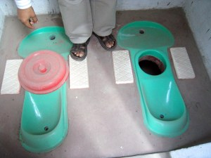 Ecosan toilets in India